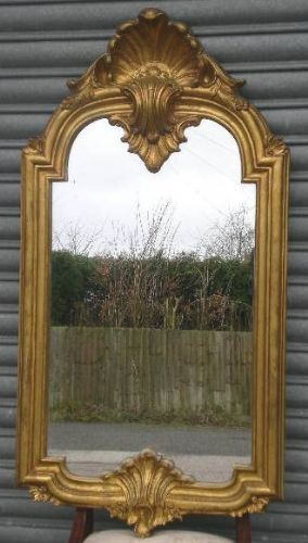 Deep Framed Gilt, Tall Mirror